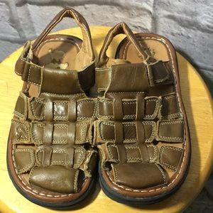 Jumbo Coco Brown Boys Sandals